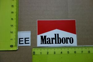 Alter Aufkleber Zigaretten Motorsport MARLBORO Automat (?) B