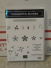 Stampin Up - Thoughtful Blooms - RETIRED New Old Stock