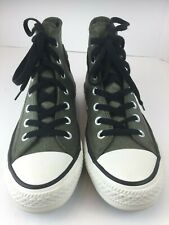 Converse All Star Chuck Taylor Hi Top Leather Unisex Sneakers Shoes EUC