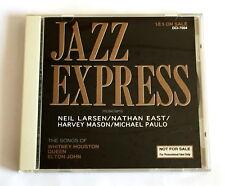 JAZZ EXPRESS JAPAN PROMO ONLY CD 1993 Neil Larsen Harvey Mason Nathan East