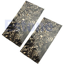 2Pcs Celluloid Guitar Builder Inlay Guitar Celluloid Head Veneer Shell Sheet