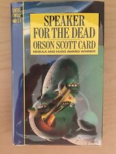 SPEAKER FOR THE DEAD British edition 1st Signed By Orson Scott Card