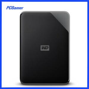 Western Digital WD Elements 1TB 2TB 3TB 4TB USB Portable External Hard Drive HDD