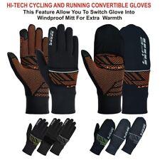 LIFE Running Gloves convertible Cycling gloves race hybrid running gloves