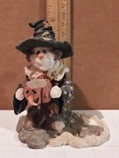 Boyds Bears snowman with pumpkin