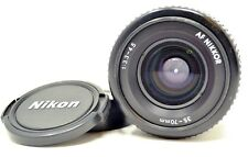 【Near Mint 】Nikon AF Nikkor 35-70mm f/3.3-4.5 w/ Nikon Logo Caps *Free Shipping*