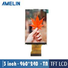 high definition 3 inch 960*240 TN TFT LCD module HX8268-C 9 O'clock  lcd display