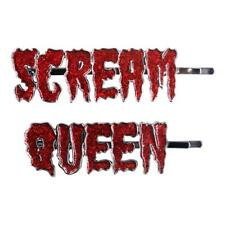 Kreepsville 666 Scream Queens Text Horror Movies Gothic Hair Slides Clips HSTSQ