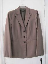 New Ladies Larry Levine Tahari Business Blazer- Brown- Size 8-MSRP $99.00
