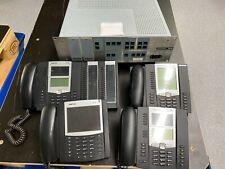 Telefonanlage Mitel X320 Rack mit M100-IP und 4 IP Telefone (19 Zoll Einbau)