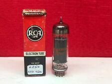 RCA 6CZ5 Tube Black Plate NOS Tested 100%