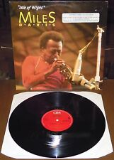 LP MILES DAVIS Isle of Wight (Cbs 87 EUROPE) free jazz fusion Hancock Jarrett NM