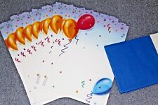 Vintage Stationary by Royal Stationary ~ Balloons and Confetti