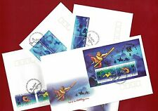 2004 Christmas Island Year of the Monkey SG 528/41 FDC Set of 4