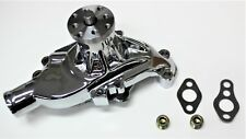 CHEV SMALL BLOCK SBC WATER PUMP CHROMED ALLOY SHORT PUMP SBC 283-327-350-400