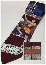 TABASCO Men's Basketball Player Made In USA 100% Imported Silk Novelty Tie