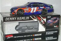 2017 DENNY HAMLIN #11 FEDEX FREIGHT AUTOGRAPHED 1/24 CAR#226/613 AWESOME SIGNED