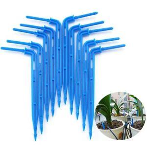3/5mm hose Bend Arrow Dripper Micro Drip Irrigation Drops Emitters Sprinkler Kit