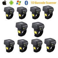 10X Eyoyo Wearable 1D Wireless Ring Finger Barcode Scanner Mini Bar Code Reader