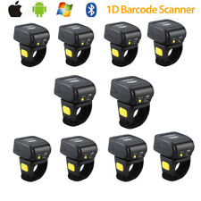 Mini Wearable BTOOTH 1d Laser Barcode Scanner Ring Type for iPhone Windows XP