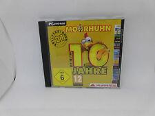 PC Spiel Moorhuhn Die ersten 10 Jahre - 21 Vollversionen sehr gut erh. in Karton