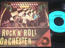 ROCK'N'ROLL ORCHESTER ... / DDR 4-track QUARTETT SP 1987 AMIGA 556172