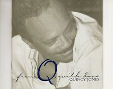 CD QUINCY JONES	from Q, with love	2CD EX+  (A4556)