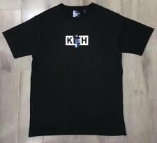 brand new new york KITH x be@r bearbrick logo black short t-shirt L size