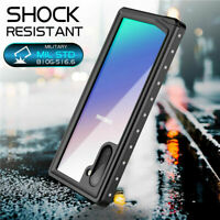Life Waterproof Case For Samsung Galaxy S20+ /Note 10+ Built in Screen Protector