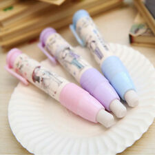 Rubber Eraser Gift Eraser Student Stationery School Cute Tool Pen Shape Eraser