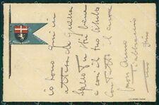 Militari Reggimentali VI Lancieri di Aosta cartolina XF2136