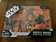 Star Wars 30th Battle Packs Battle Of Geonosis Sealed