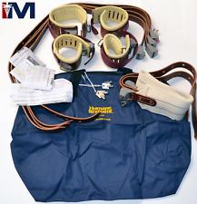 Humane Restraint Kit # 5 Ambulatory 501 Leather Locking 5-point Restraint Kit