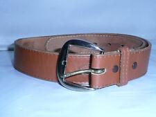 Tony Lama Western Brown  Leather Unisex Belt  Size 30
