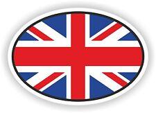 OVAL ENGLISH UK FLAG STICKER UNITED KINGDOM MOTO AUTO TRUCK LAPTOP BIKE BUMPER