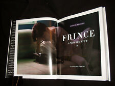 Afshin Shahidi signed Prince : A Private View 1st printing hardcover book