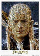 Lord Of Rings ~ Return King Legolas Mosaic Movie Poster