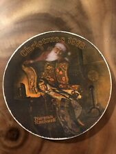 1978 Norman Rockwell Christmas Dream Collector Plate Knowles