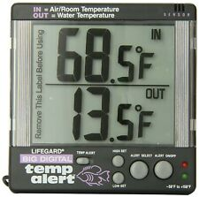 Lifegard Aquatics Big Digital Temp Alert Aquarium Thermometer