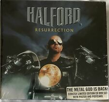 HALFORD - RESURRECTION (SEALED LTD EDITION CD BOX SET WITH POSTER & POSTCARDS)