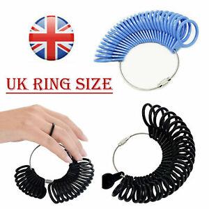 Ring Sizer Finger Measure For Men Women UK / EU Sizes A - Z +1 Gauge Official