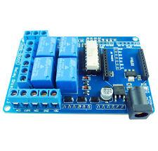 1Pcs Neuf 70W 5V DC 4 Mechanical Relais Module Shield pour Arduino UNO R3 XBEE