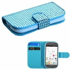 Unbranded/Generic Blue Jewelled Mobile Phone