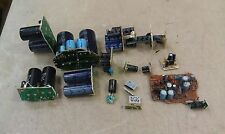5BB23 ASSORTED CAPACITORS, 40 PCS, 8200MF AND SMALLER, GOOD CONDITION