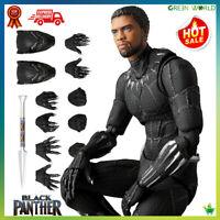 Black Panther PVC Action Figure Doll Chadwick Boseman Tribute Statue Model New