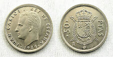 JUAN CARLOS I 50 PESETAS 1984 MADRID S/C/UNC ESCASA