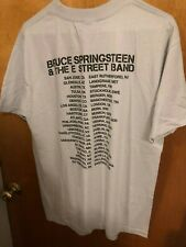 BRUCE SPRINGSTEEN and The E Street Band 2009 Concert Tour GRAY T-shirt.  Size M