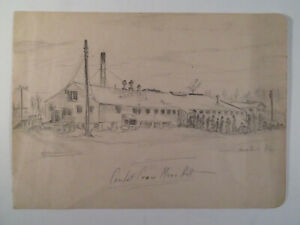 WWII Avon Park Air Force Base Mess Hall Florida FL Aviation Military + Landscape