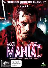 Maniac (DVD, 2013) * Elijah Wood * Monster Pictures *