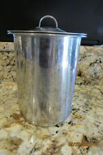 vintage vollrath professional container canister w/ lid stainless steel Medical?